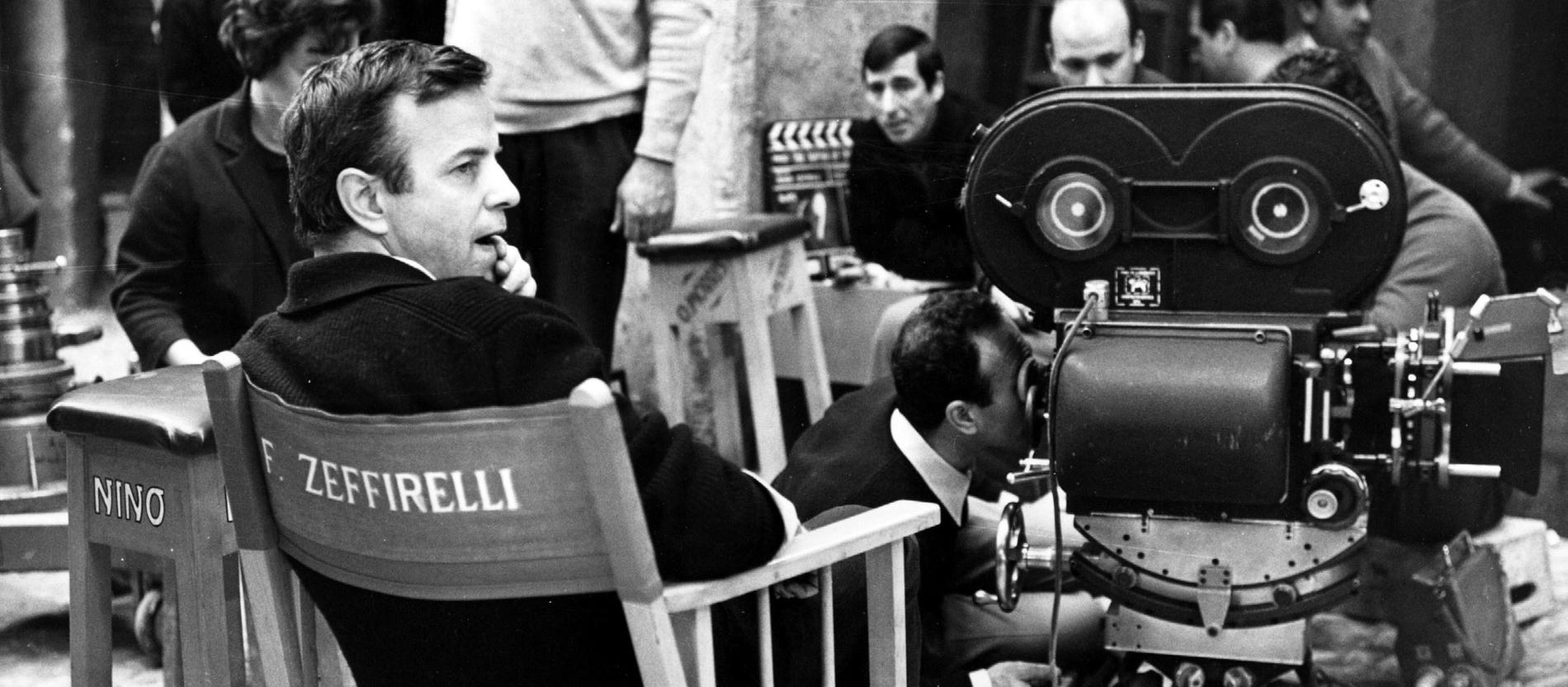 Der italienische Regisseur Franco Zeffirelli (1923-2019)
