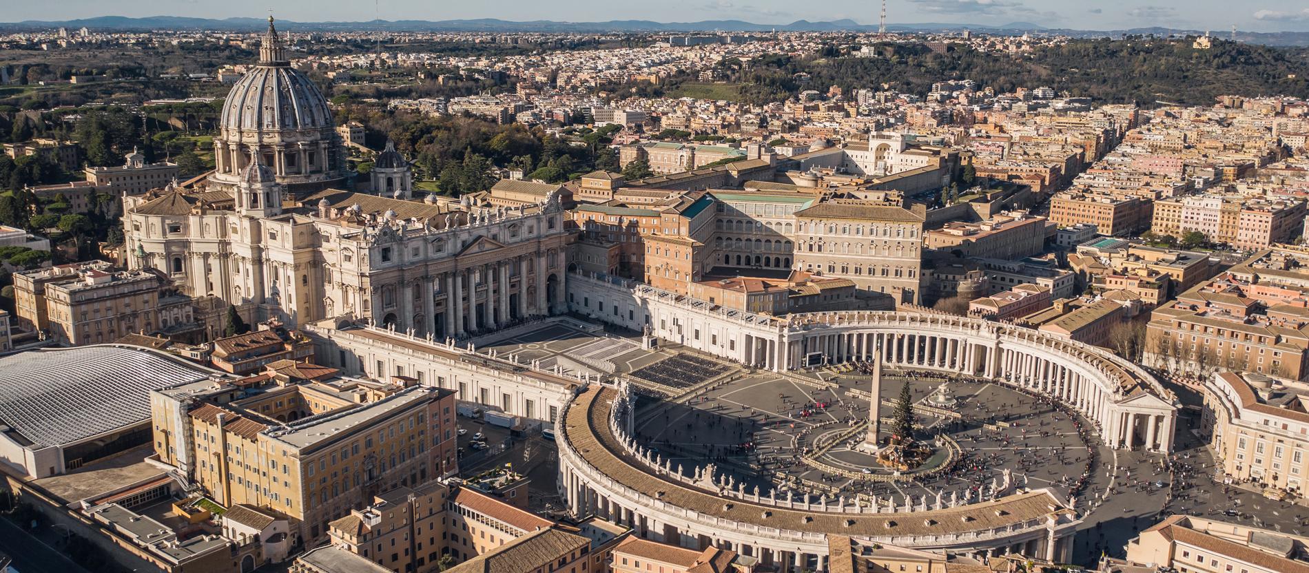 Als in Rom die weltliche Macht der...
