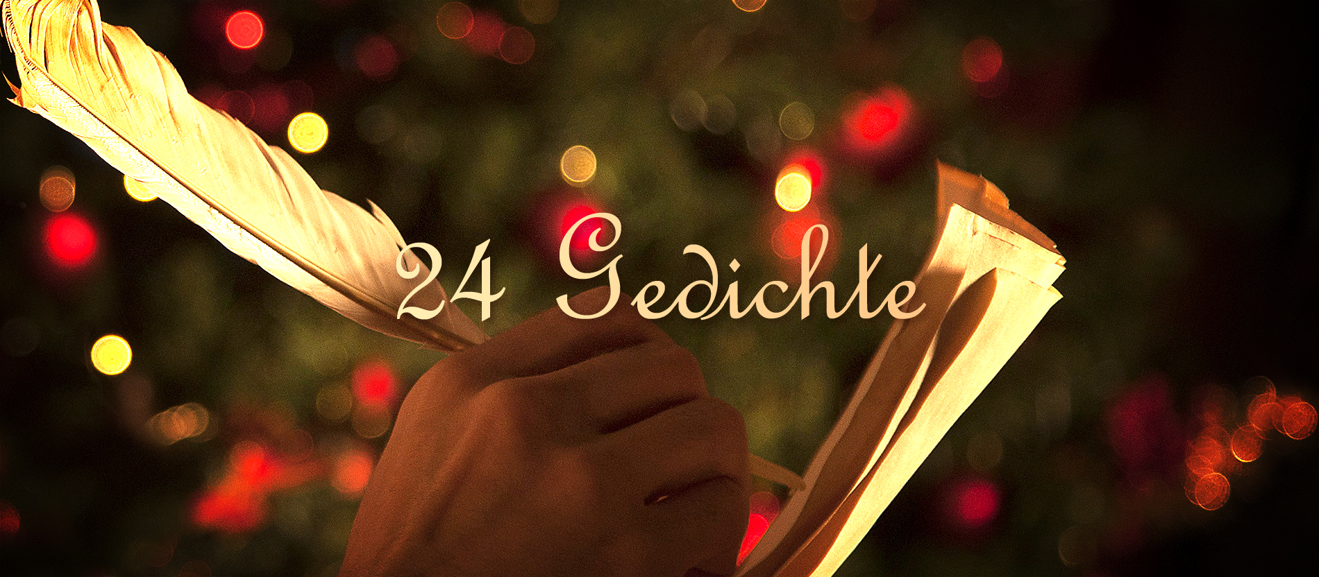 Mit 24 Gedichten durch den Advent