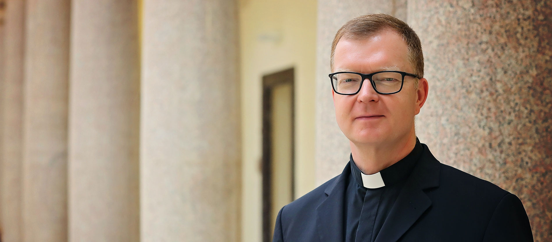 Der Jesuitenpater Hans Zollner ist Leiter des Centre for Child Protection (CCP) in Rom.