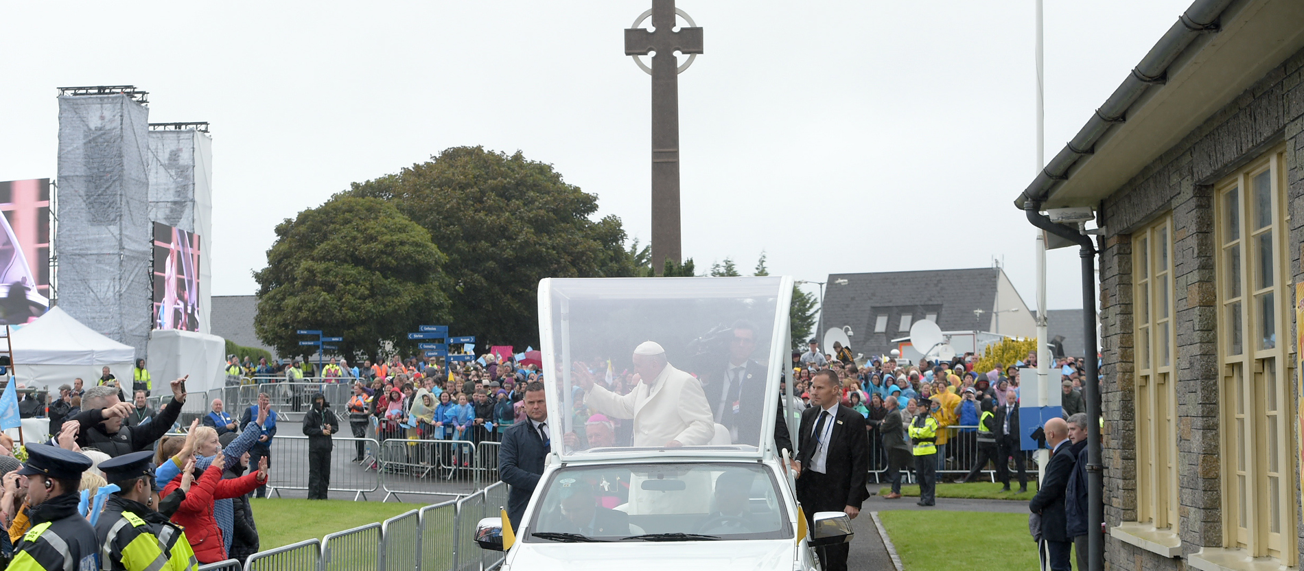 Papst Franziskus in Knock
