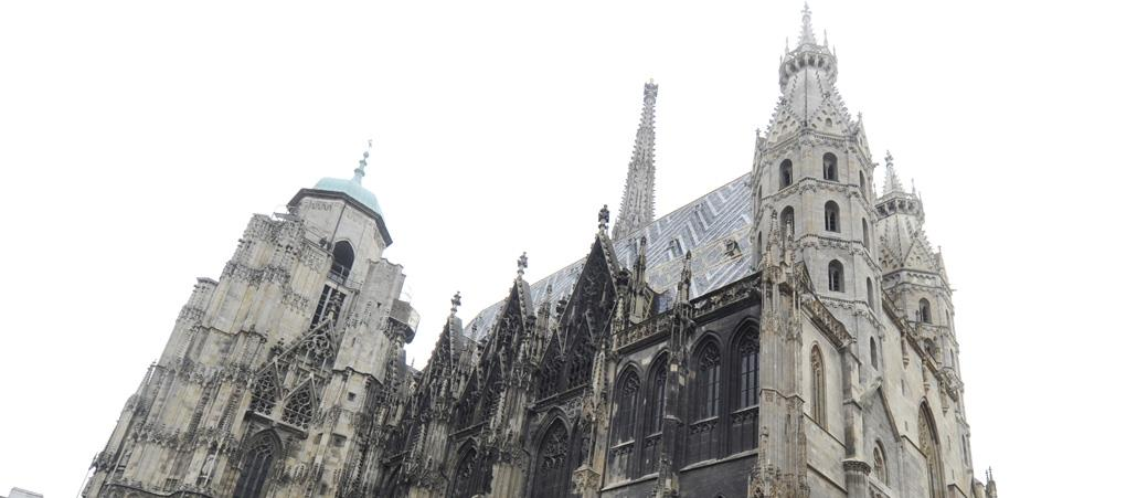 Der Stephansdom in Wien.