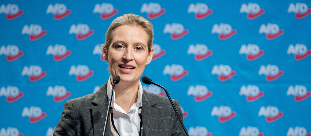 Afd-Fraktions-Chefin Alice Weidel