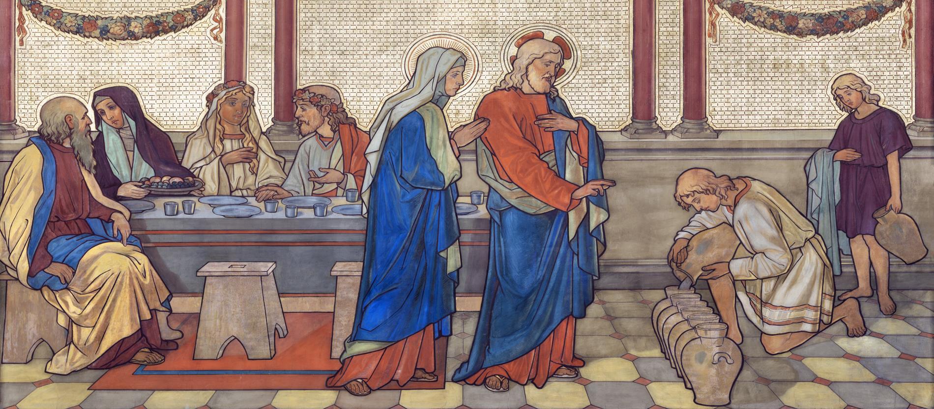 Jesus Wasser Zu Wein