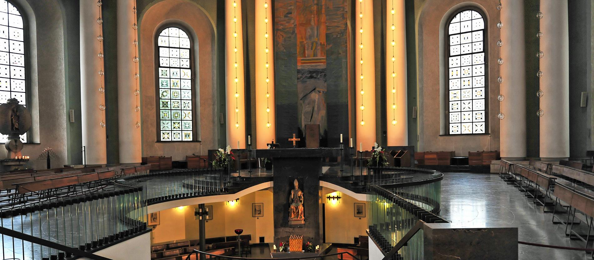 Die Hedwigskathedrale in Berlin.