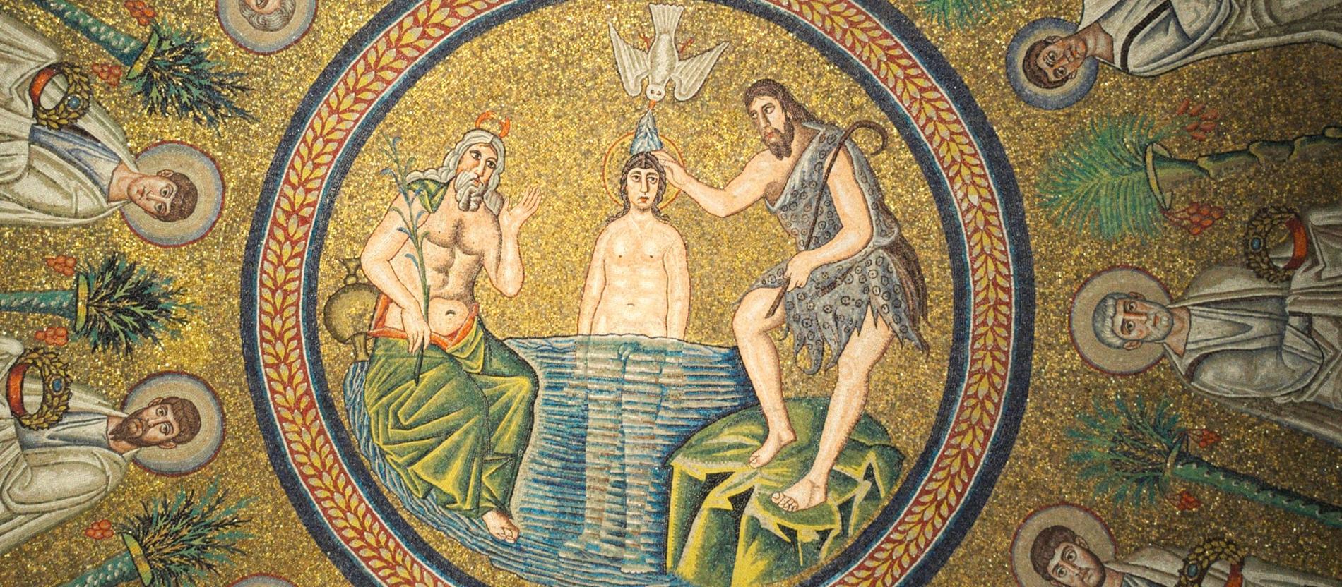 Ausgelegt Als Die Taufe Noch Nicht Langweilig War