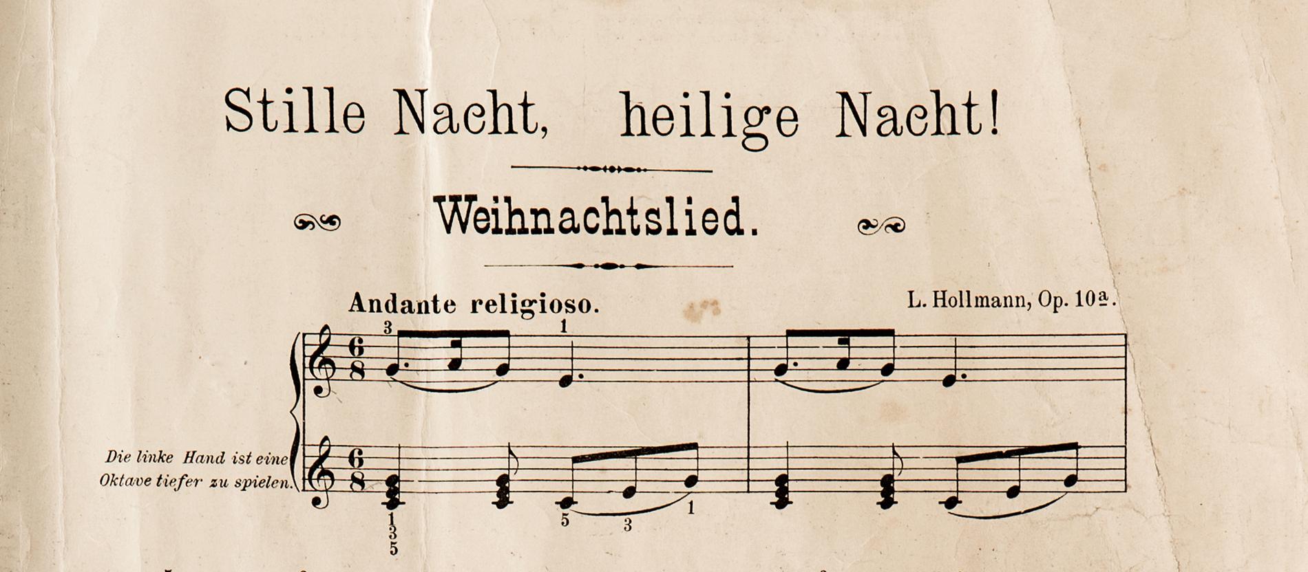 Den bekanntesten Weihnachtshit schrieb ein Priester - katholisch.de