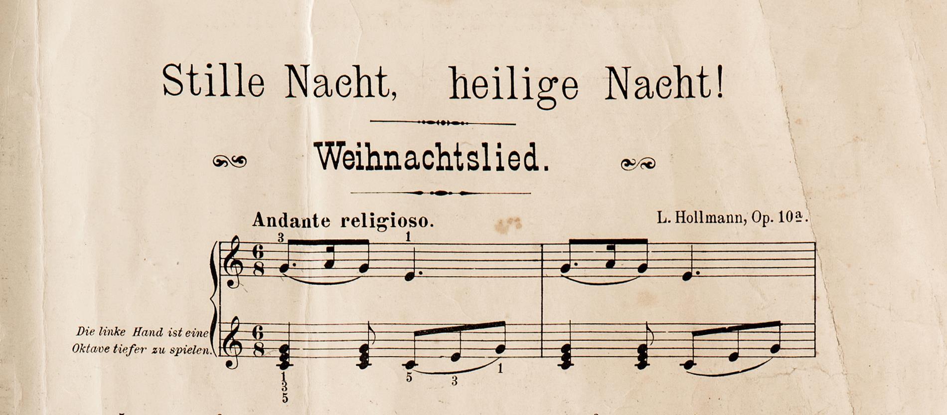 Populäre Weihnachtslieder.Stille Nacht Stirbt Nicht Aus Katholisch De