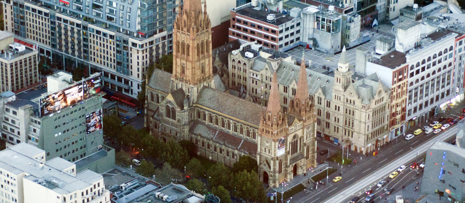 St. Pauls-Kathedrale in Melbourne