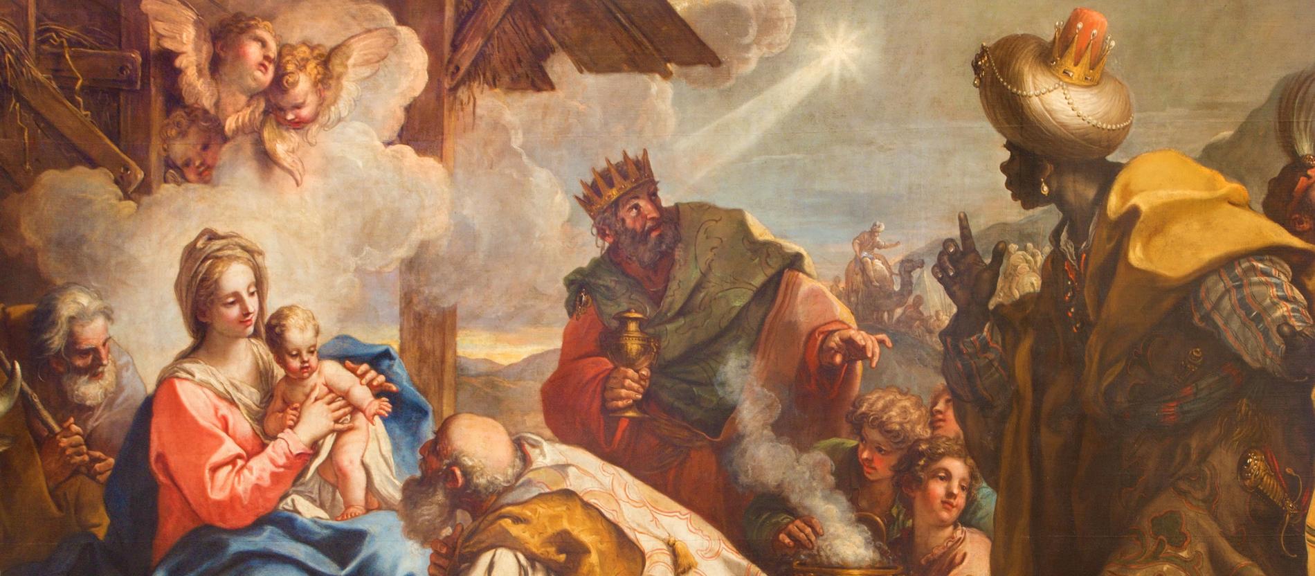 Dreikönigstag Der Stern Zog Vor Ihnen Her Katholischde