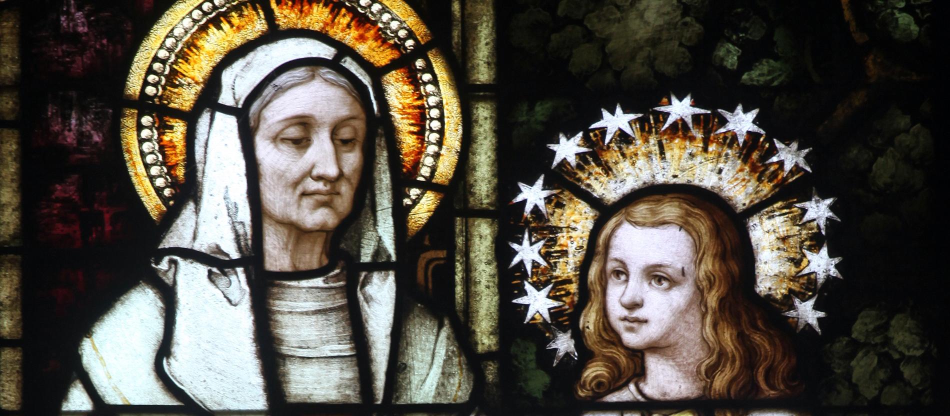 Die Heilige Anna Die Großmutter Jesu Katholischde