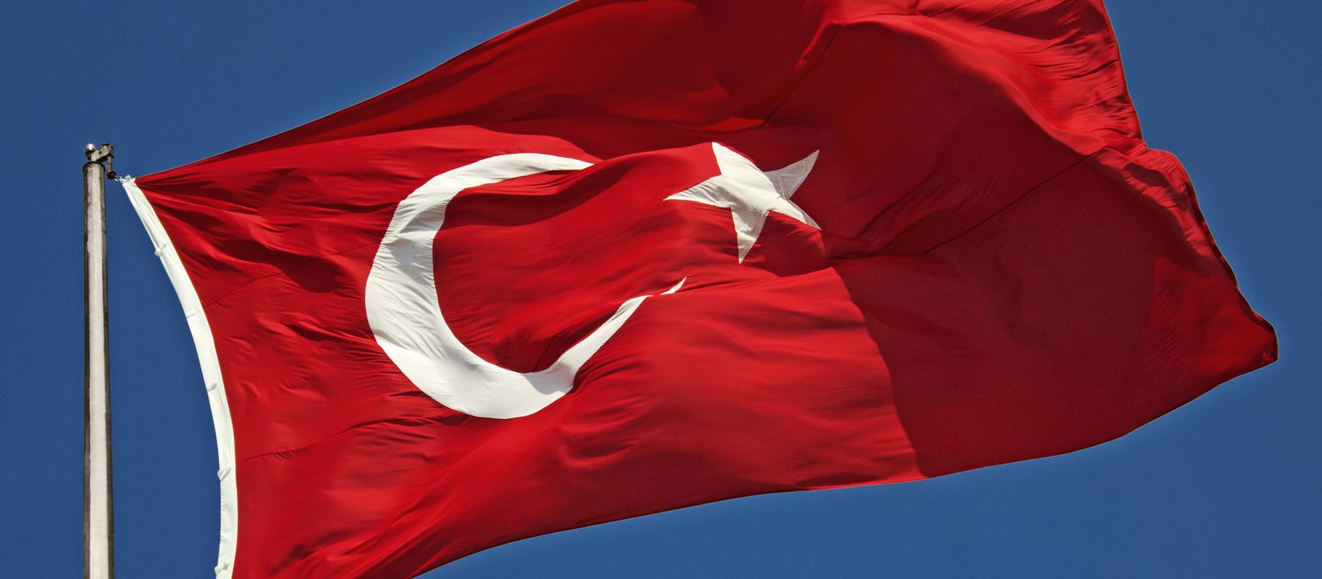 Türkei Deutschland Flagge