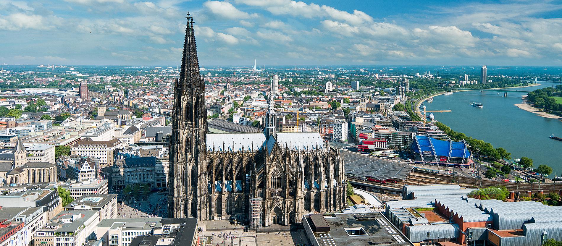 La Cathédrale de Cologne, une photo citée du site katholisch.de