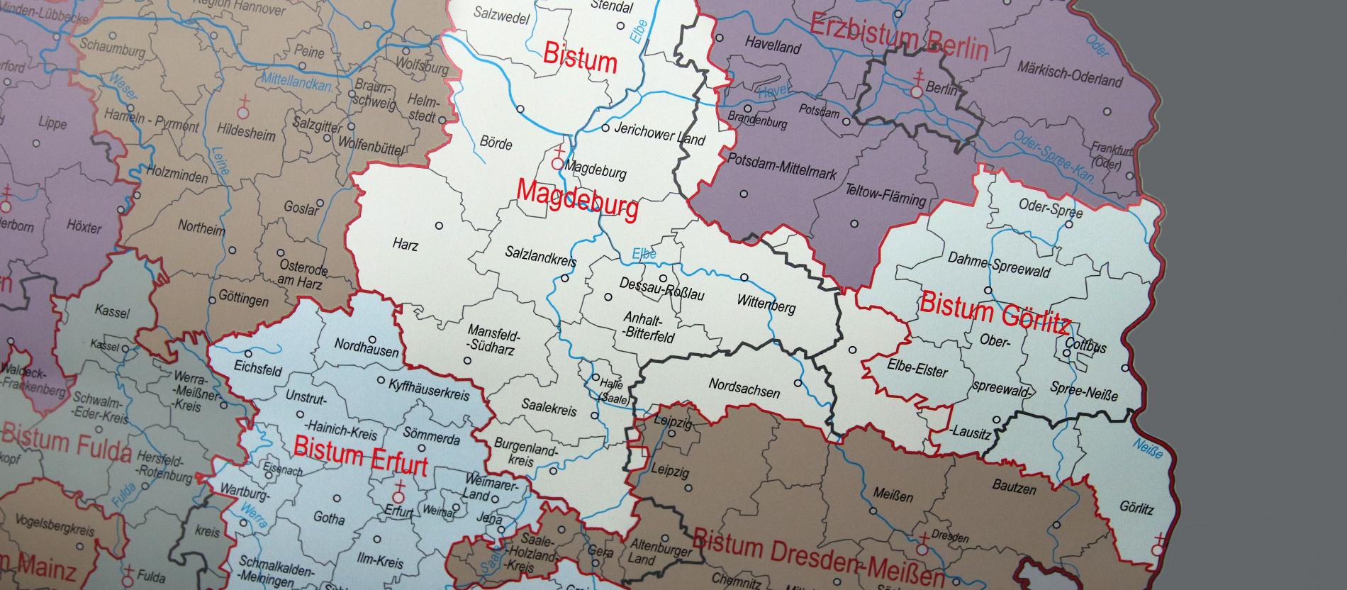 Als Deutschland Drei Neue Diozesen Bekam Katholisch De