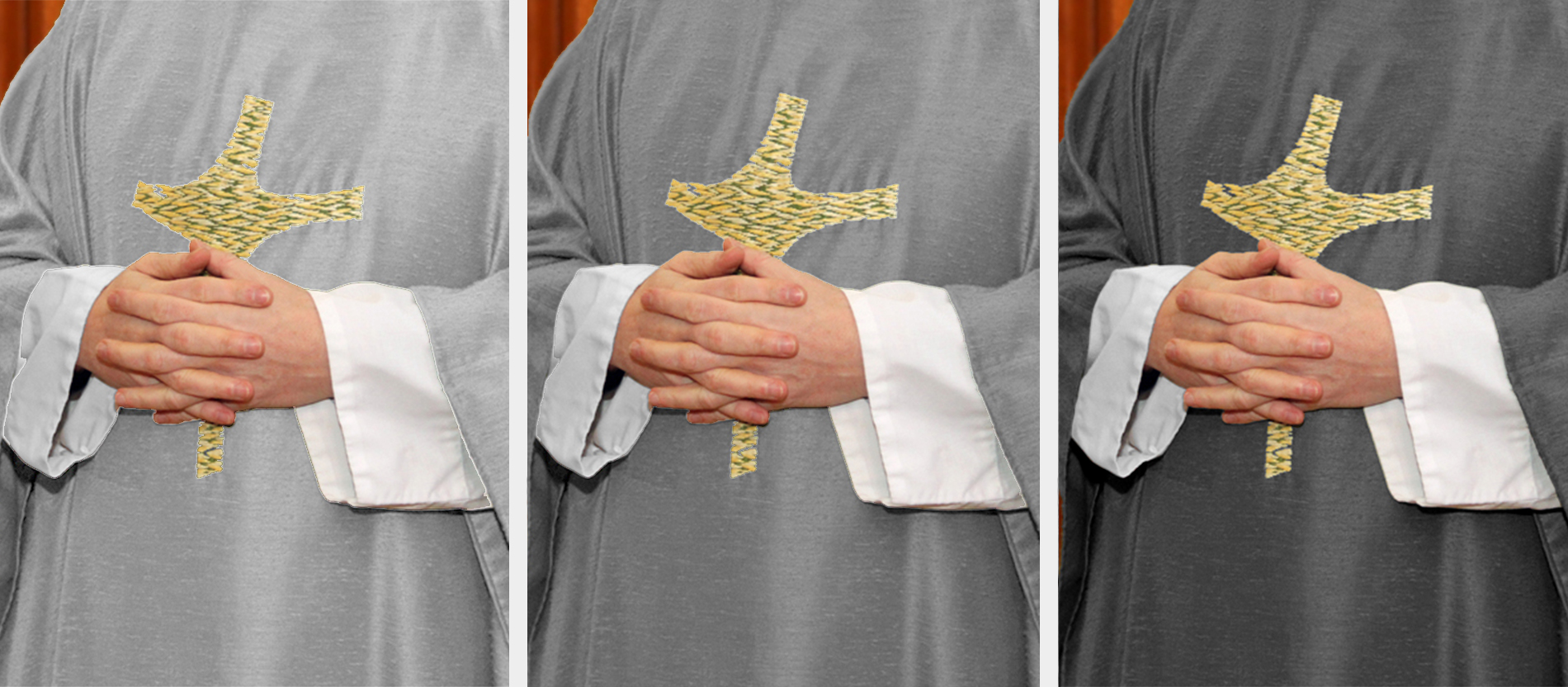 papst plant neue liturgische farbe grau. Black Bedroom Furniture Sets. Home Design Ideas