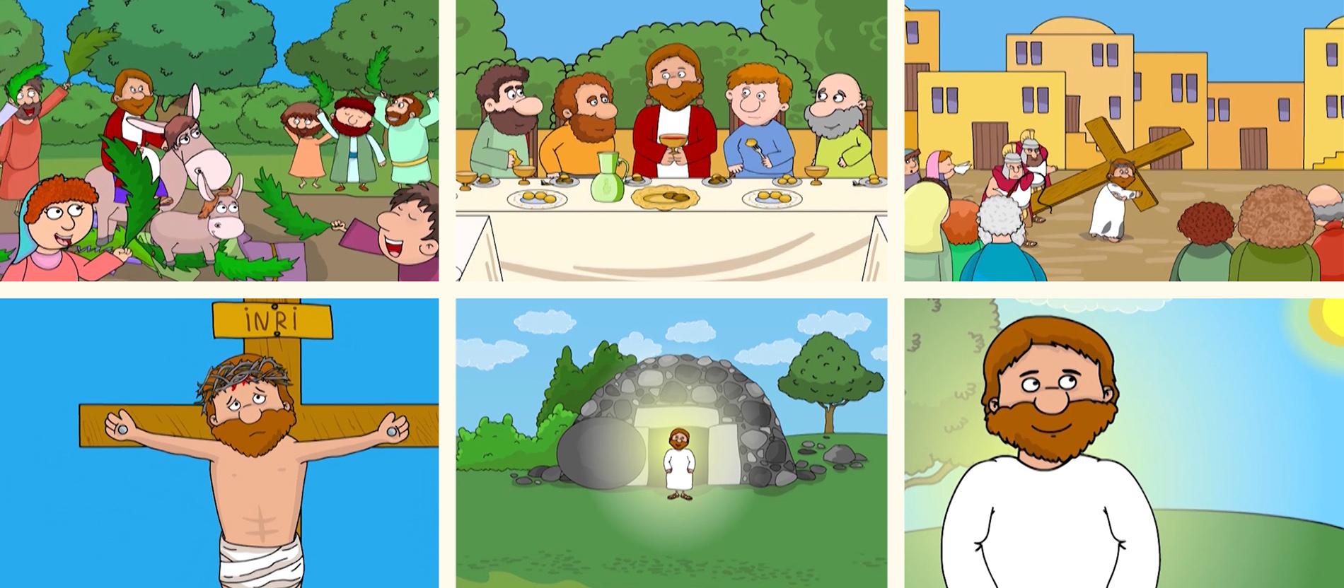 die ostergeschichte für kinder erzählt  katholischde