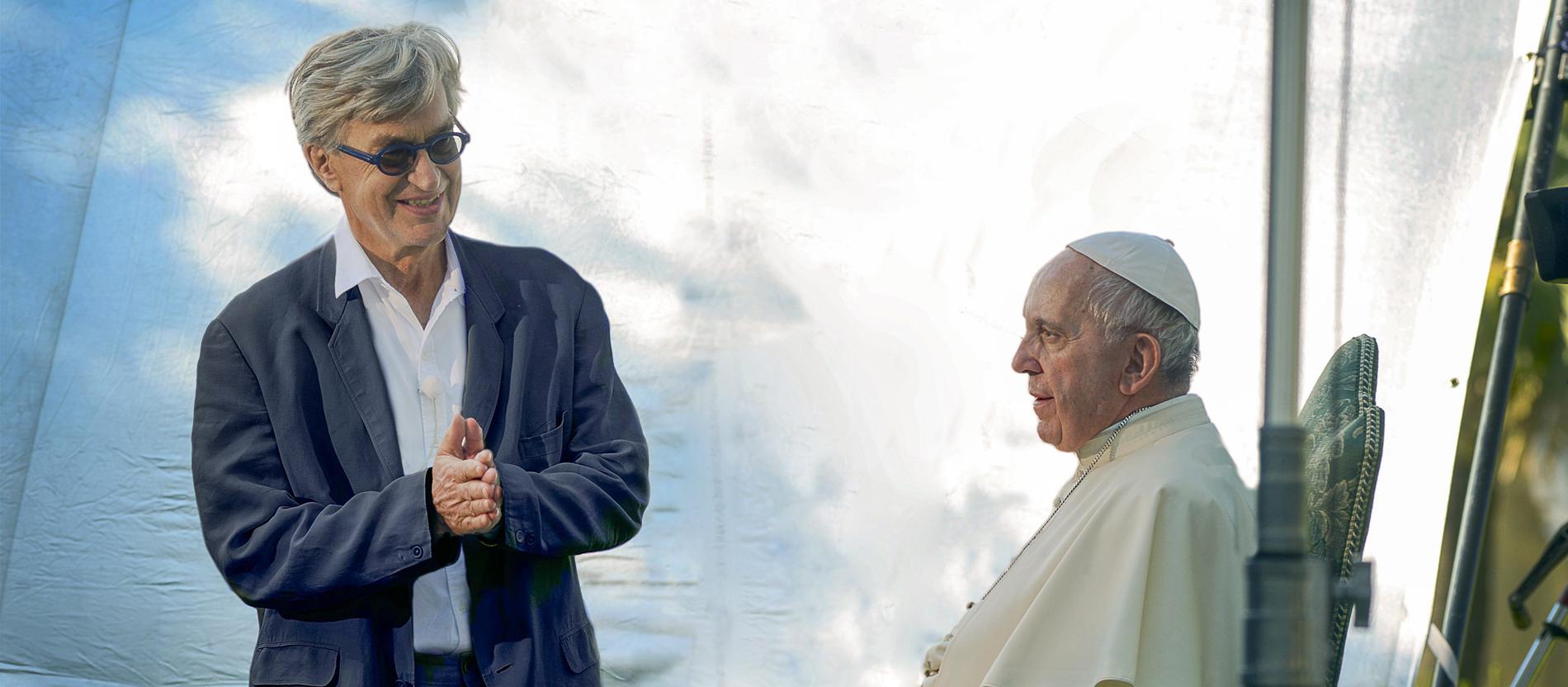 Wim Wenders über Den Papst Der Mann Hat Mut Katholisch De