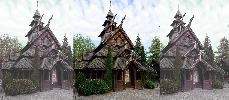 Brand Im Europa Park Norwegische Stabkirche Unversehrt Katholischde