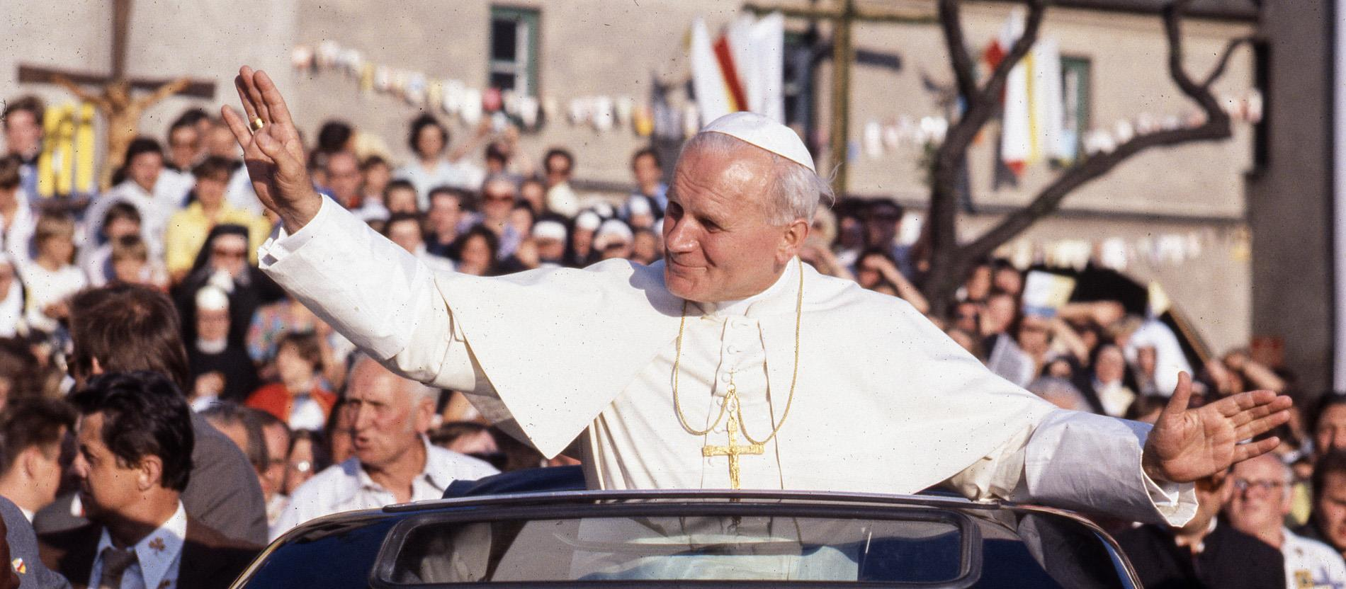 Papst Johannes Paul II. in Polen