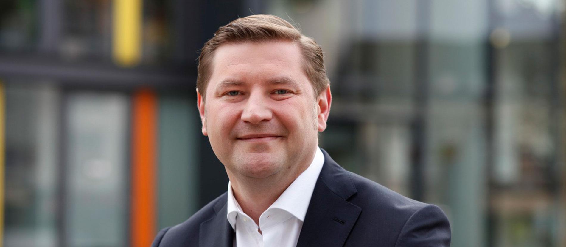 Tim Kurzbach, alcalde de Solingen